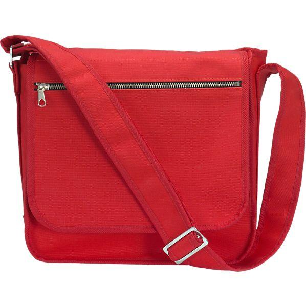 Marimekko Olkalaukku Red Canvas Bag
