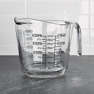 Glass 4-Cup Measuring Cup