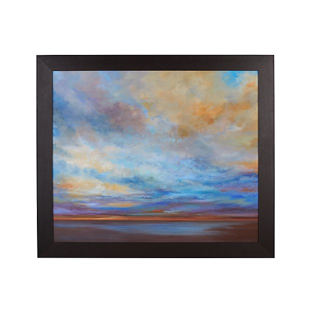 Coastal Clouds Print