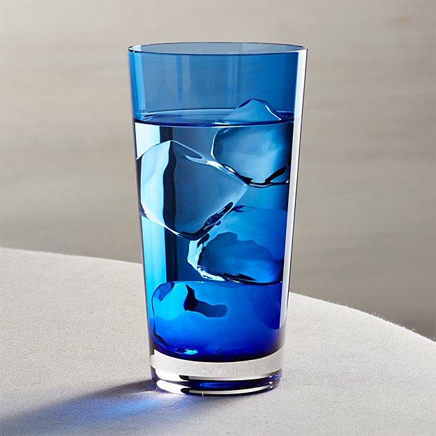 Cobalt Highball Glass