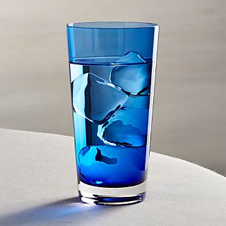 Cobalt Highball Glass