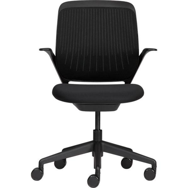 Steelcase ® cobi ™ Black Office Chair