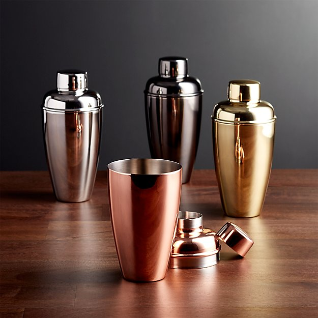 Stainless Steel Cocktail Shakers