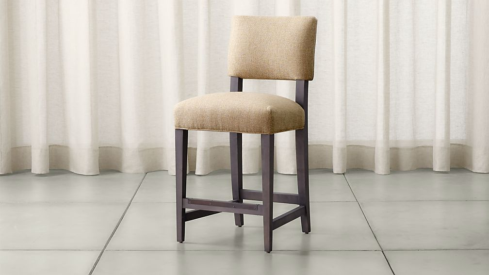 Cody Upholstered Counter Stool Tobias Fennel Crate And