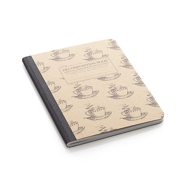 Coffee Cup Notebook