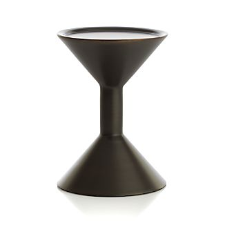 Cohen Small Black Metal Pillar Candle Holder