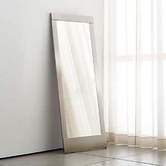 Colby Nickel Floor Mirror