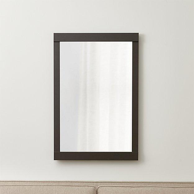 Colby Gunmetal Wall Mirror