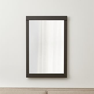 Colby Gunmetal Wall Mirror