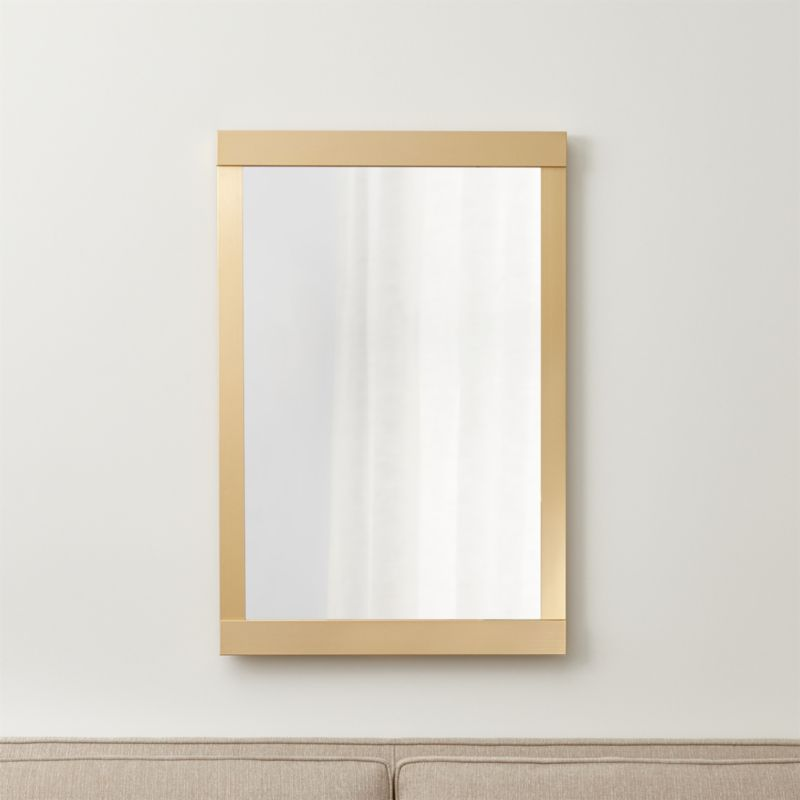 Colby Soft Gold Wall Mirror