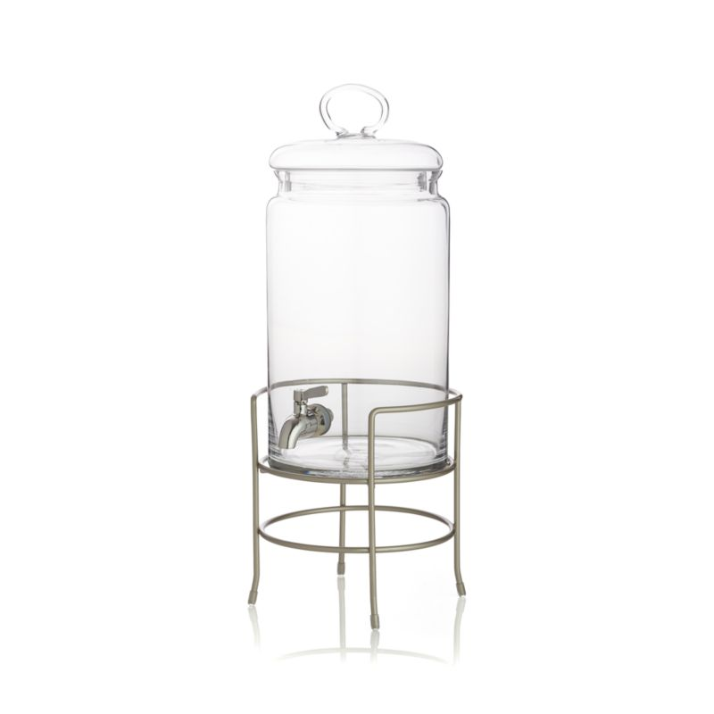 Cold Drink Dispenser with Stand