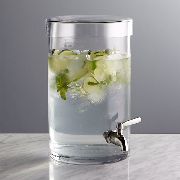 Glass Drink Dispenser Crate And Barrel