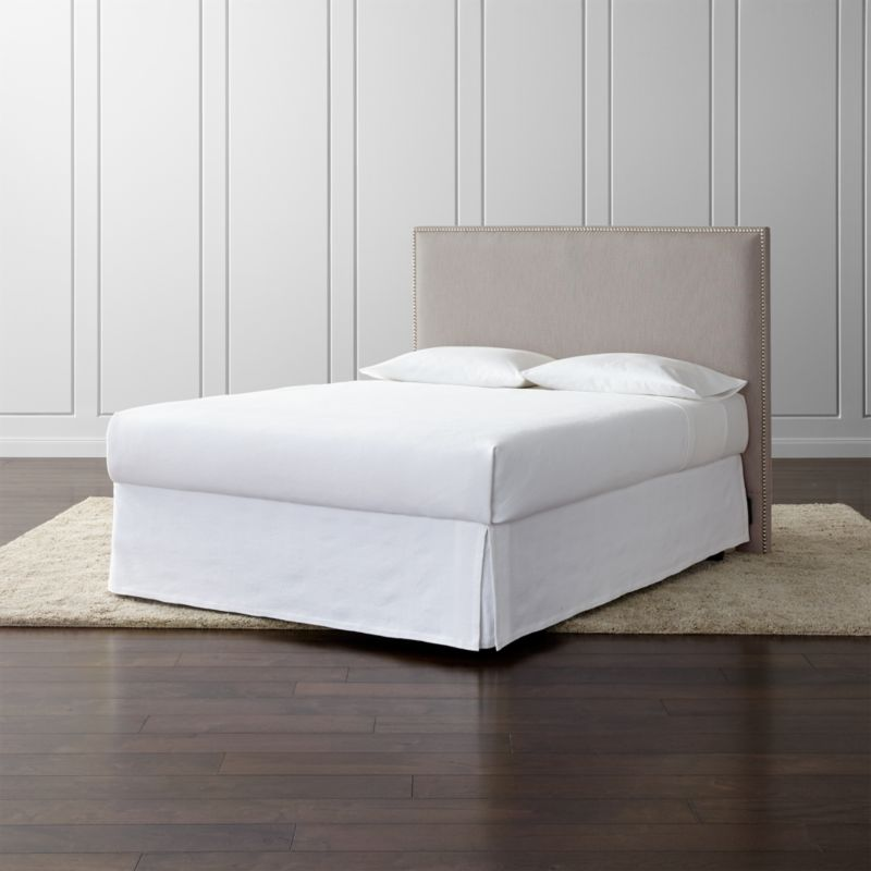 Cole Upholstered Headboard Crate And Barrel