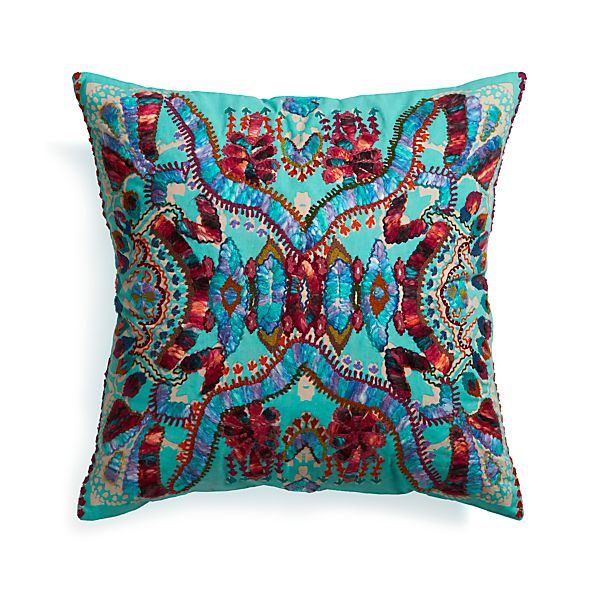 "Coletta 23"" Pillow with Feather Insert"