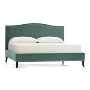 Colette Velvet California King Bed
