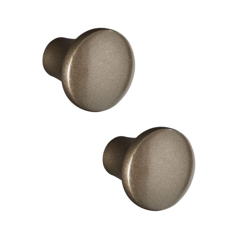 Set of 2 Colette Brass Knobs
