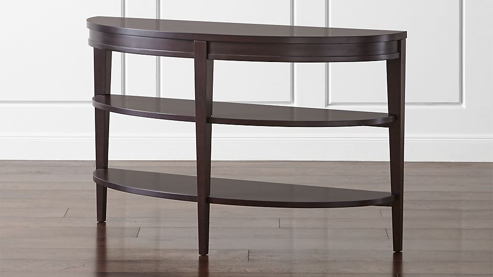 Colette Demilune Console Table Crate And Barrel