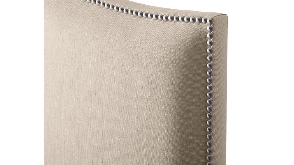 Colette Upholstered King Bed Origin Natural Crate And
