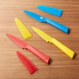 Set of 3 Kuhn Rikon Colori ® Plus Prep Knives