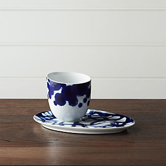 Como Cup and Saucer