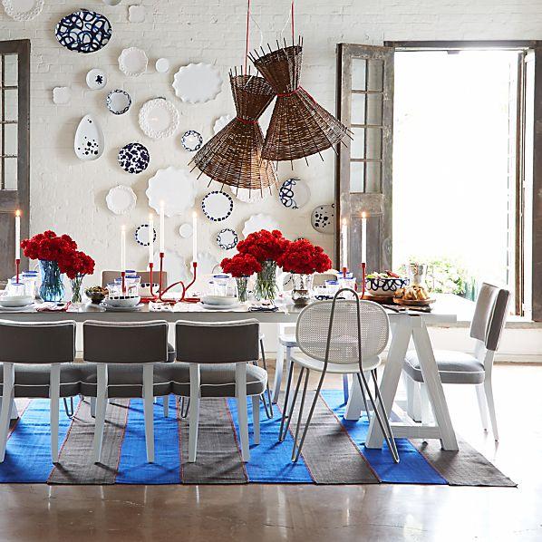 Como Sawhorse Dining Table