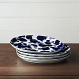 Set of 4 Como Splash Dinner Plates