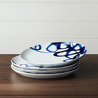 Set of 4 Como Swirl Dinner Plate