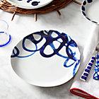 Como Swirl Dinner Plate.