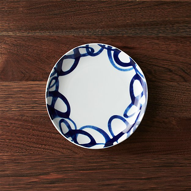 Como Swirl Salad Plate