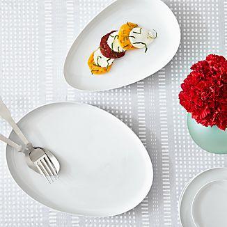Como White Platters