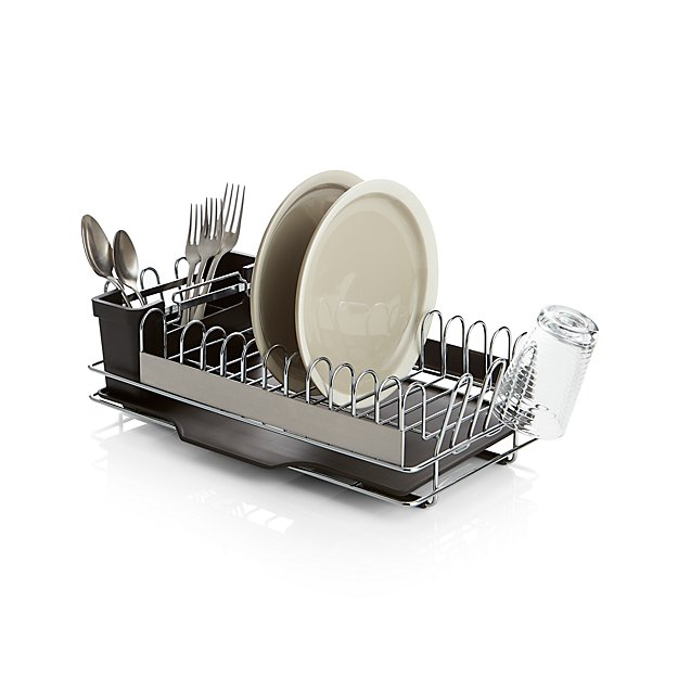 Compact Dish Rack Crate And Barrel