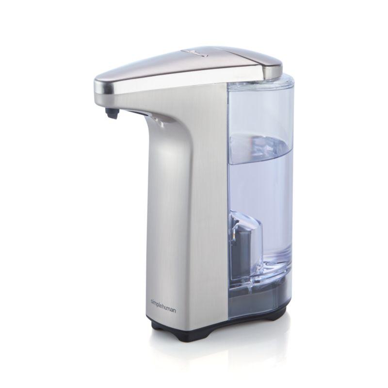 simplehuman ® Brushed Sensor Soap Dispenser