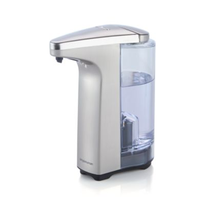 simplehuman® Brushed Sensor Soap Pump