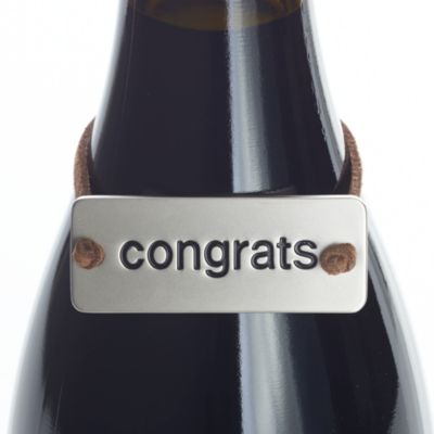 Congrats Bottle Tag