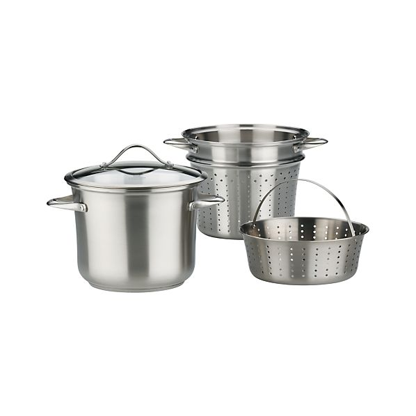 Calphalon ® Contemporary Stainless Multipot with Lid