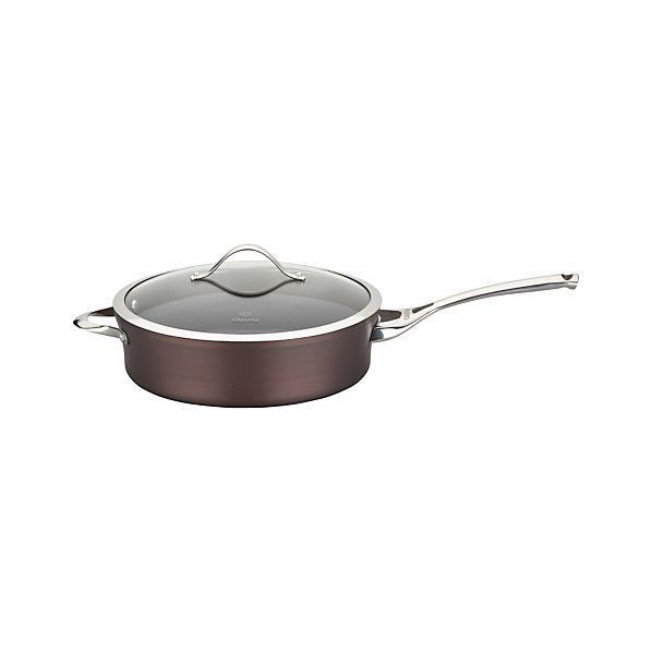 Calphalon ® Contemporary ® Nonstick Bronze Sauté Pan with Lid