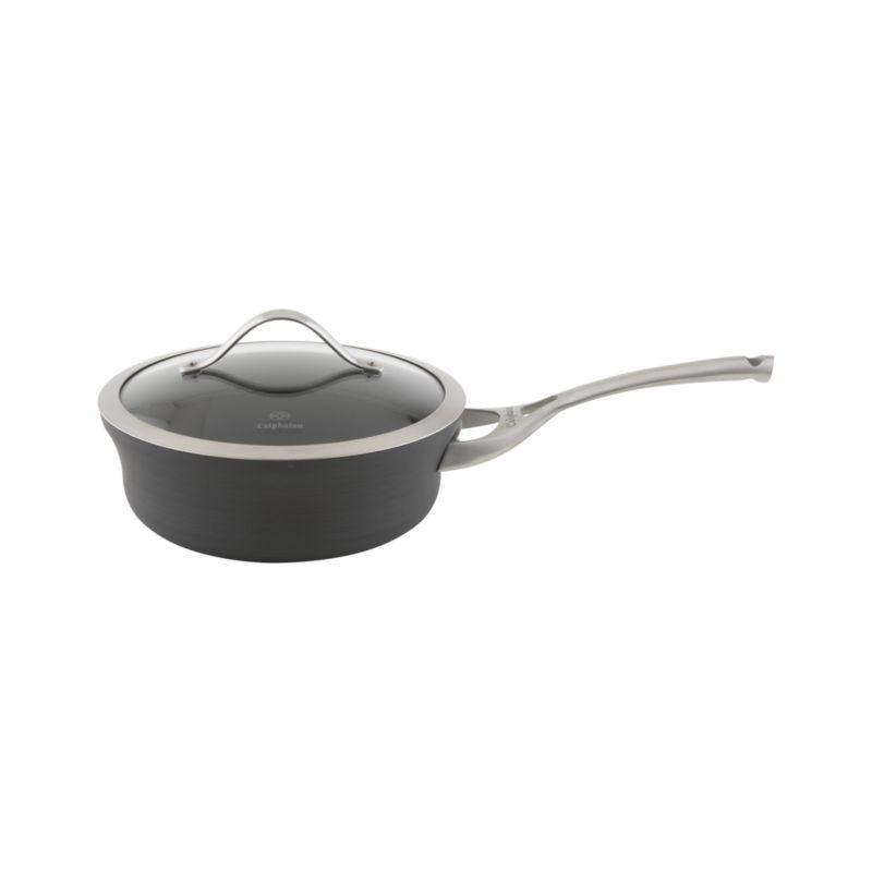 Calphalon Contemporary ™ Nonstick 2.5 qt. Shallow Saucepan with Lid