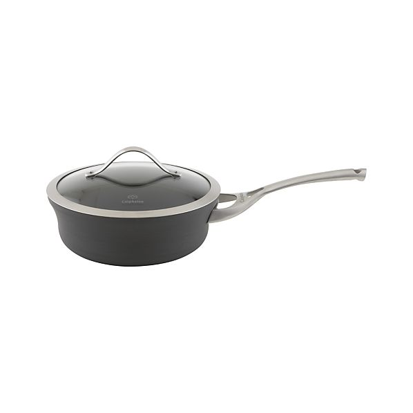 Calphalon ® Contemporary Nonstick Shallow 2.5 qt. Saucepan with Lid