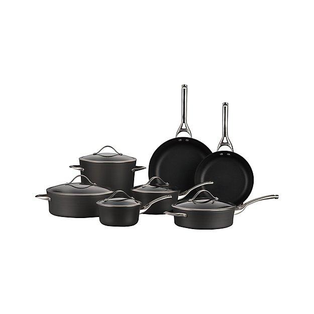 Calphalon Kitchen Outlet: Calphalon Contemporary ™ Non-stick 12-Piece Cookware Set