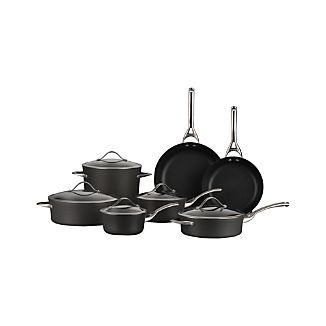 Calphalon Contemporary ™ Non-Stick 12-Piece Cookware Set with Double Bonus