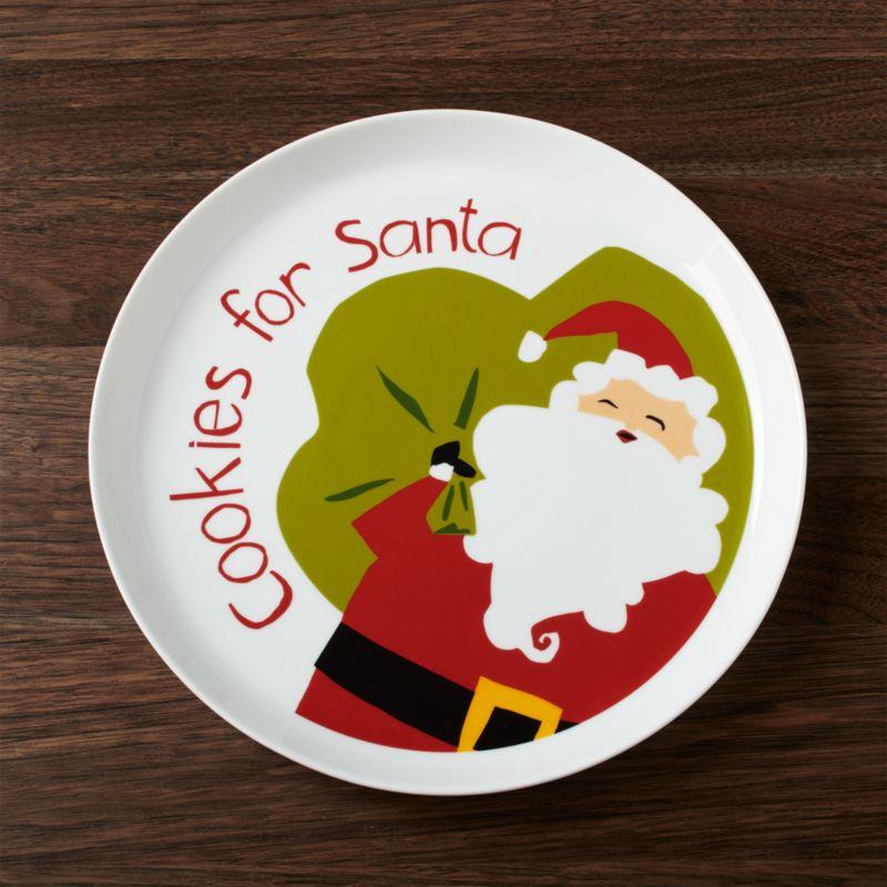 Cookies for Santa Platter