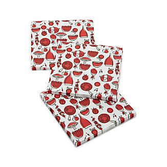 Set of 20 Cookout Lunch Napkins