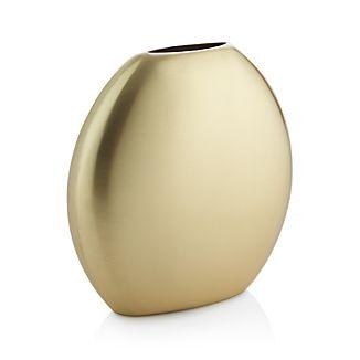 Cooper Wide Brass Vase