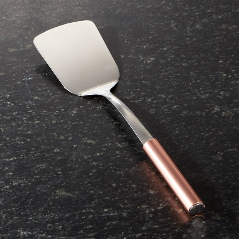 Turner with Copper Handle
