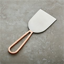 Copper Wedge Cheese Knife