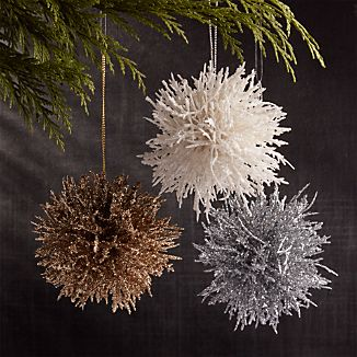 Coral Cluster Ornaments