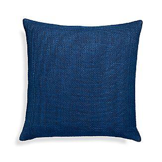 """Cordero Indigo Blue 20"""" Pillow"""