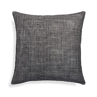 "Cordero Pewter Grey 20"" Pillow"