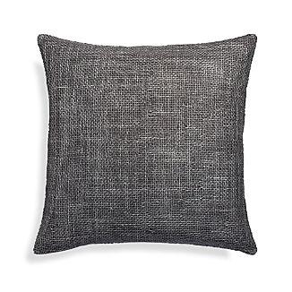 """Cordero Pewter Grey 20"""" Pillow"""
