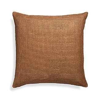 "Cordero Prairie Brown 20"" Pillow"
